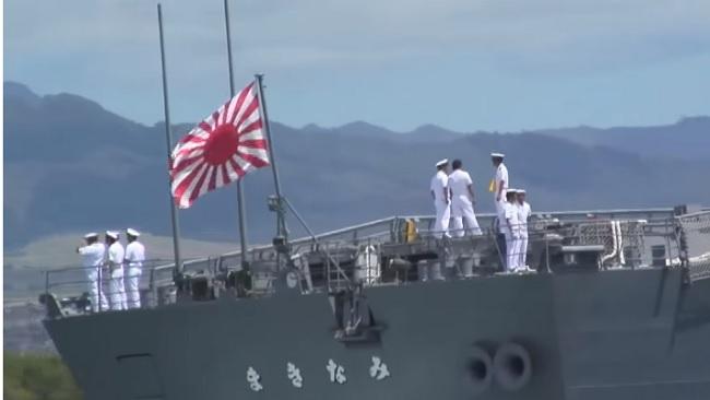 Japón y Corea del Sur discuten por uso de bandera militar japonesa, símbolo de la guerra