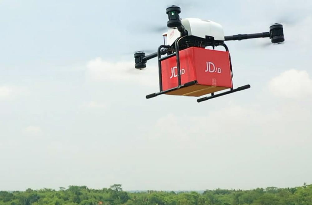Rakuten y JD.com de China implementarán sistema de entrega no tripulado en Japón