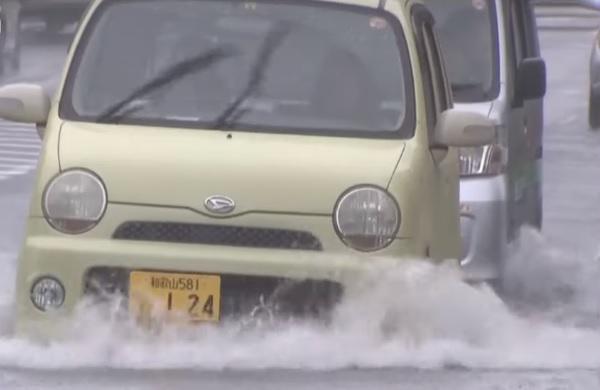Ciudad en Ehime ordena evacuación ante fuertes lluvias; Hiroshima revoca orden